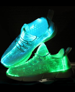 led schoenen fiberstyle led schoenen met unieke verlichting door de hele schoen